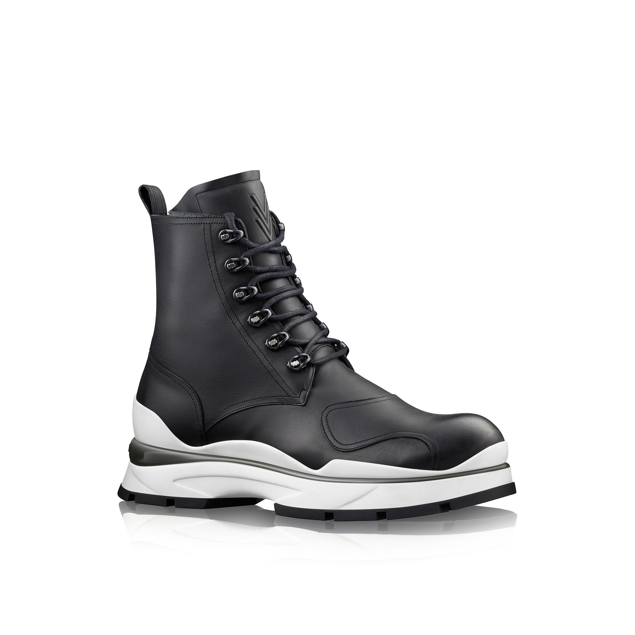 Louis Vuitton Black Shoes Mens