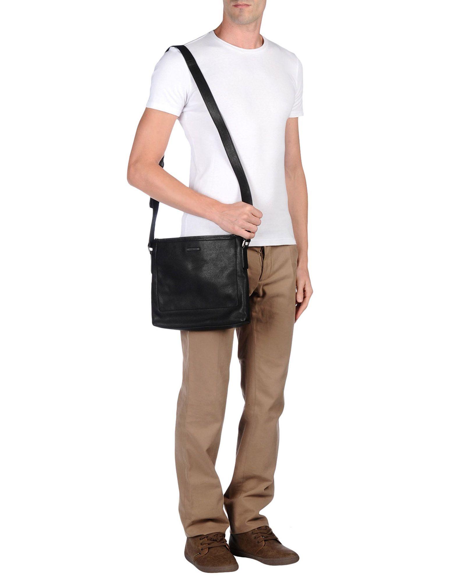 82427f404fa6 Michael Kors Cross-body Bag in Black for Men - Lyst