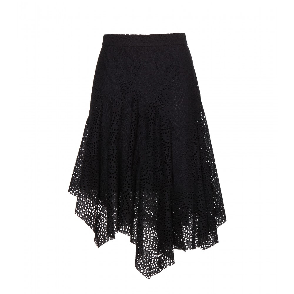 dca00dd7475 Isabel Marant Volta Lace Skirt in Black - Lyst