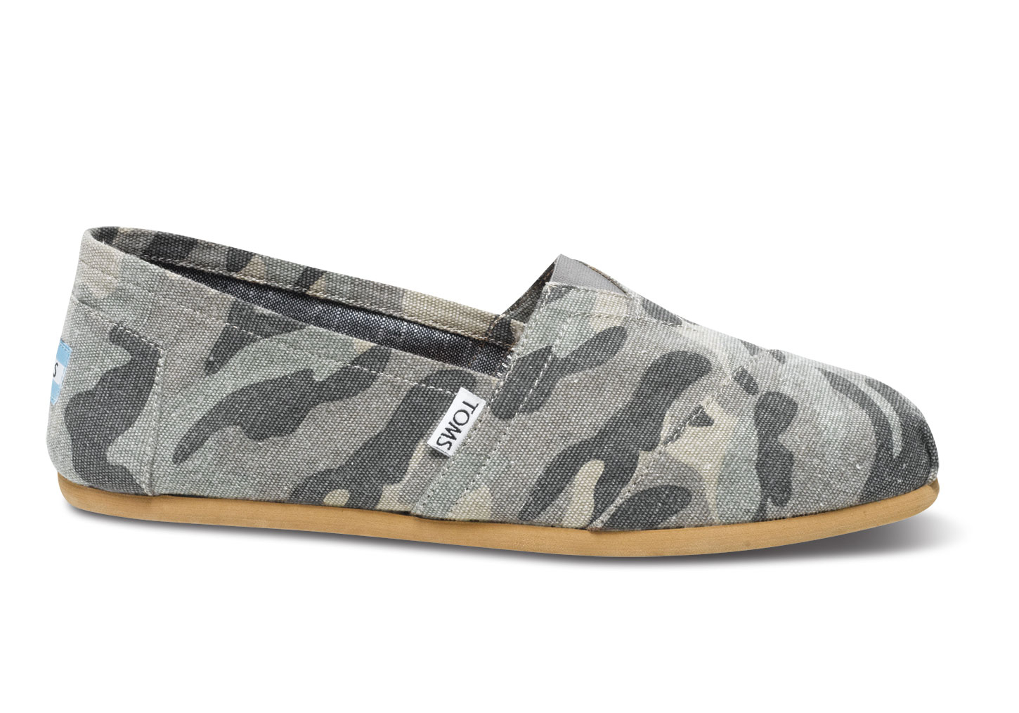 fd246bb3d3abe TOMS Green Camo Canvas Men's Classics in Green for Men - Lyst