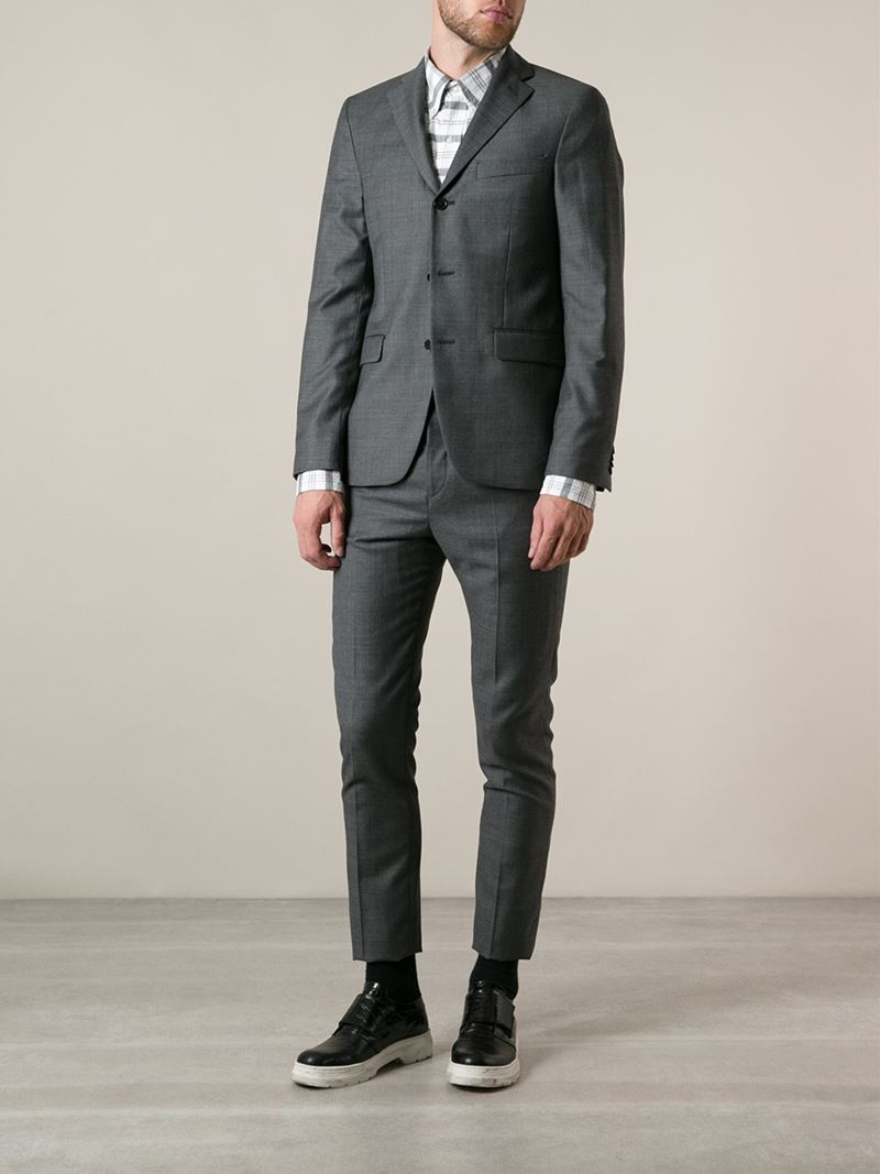 Lyst thom browne checked oxford shirt in white for men for Thom browne shirt sale