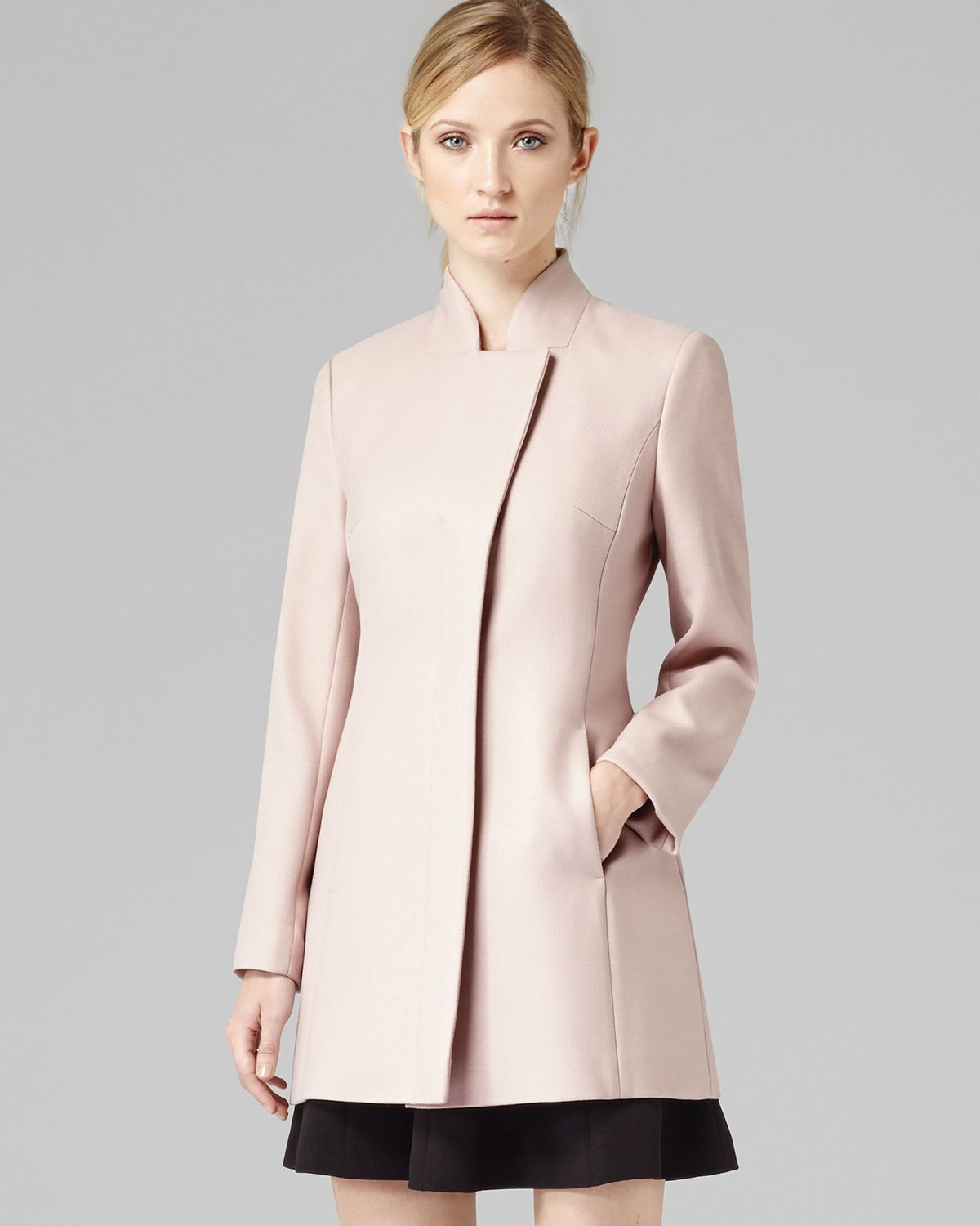 Images of Blush Pink Coat - Reikian