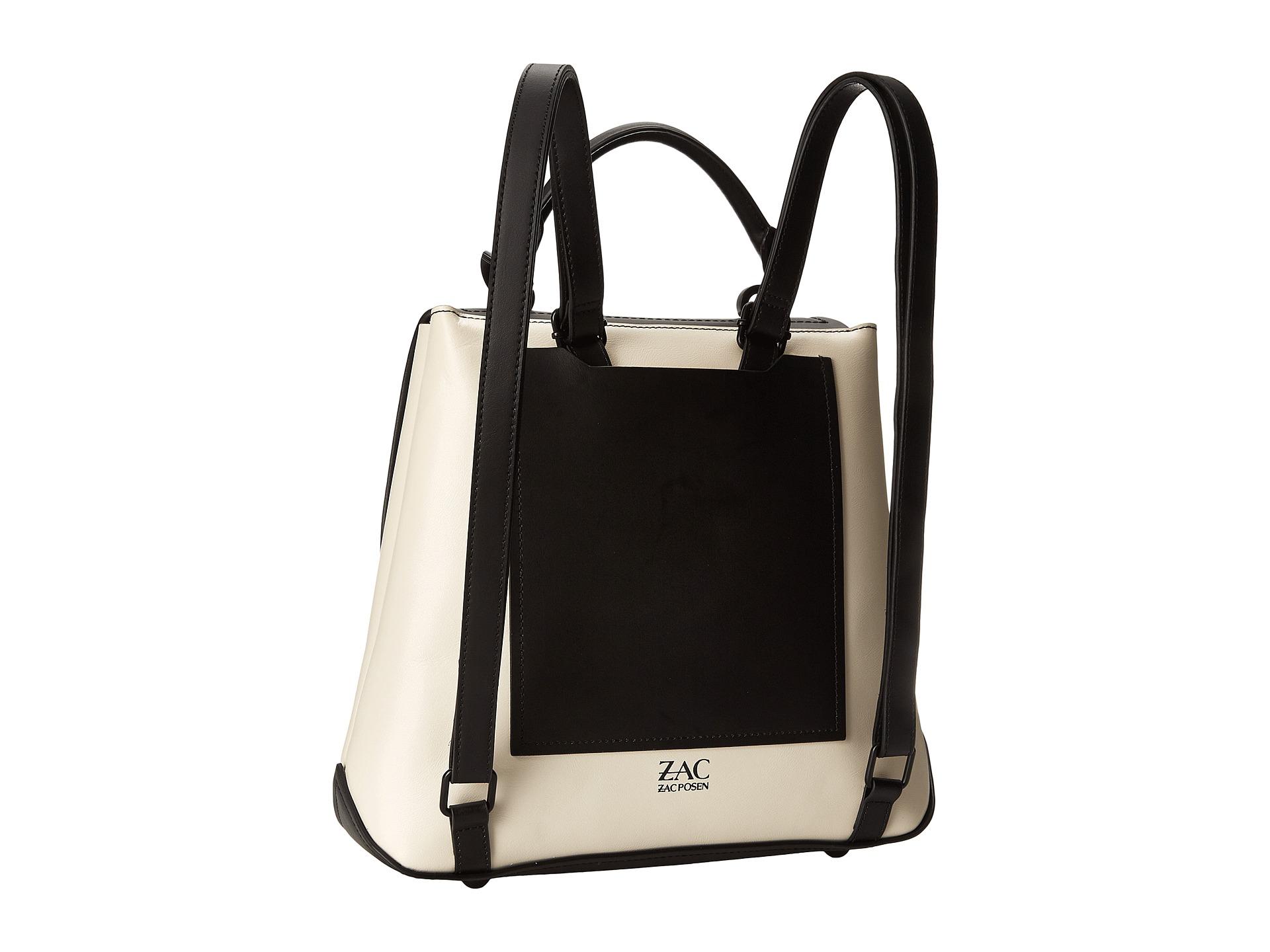 Lyst Zac Zac Posen Eartha Envelope Backpack Oversized In