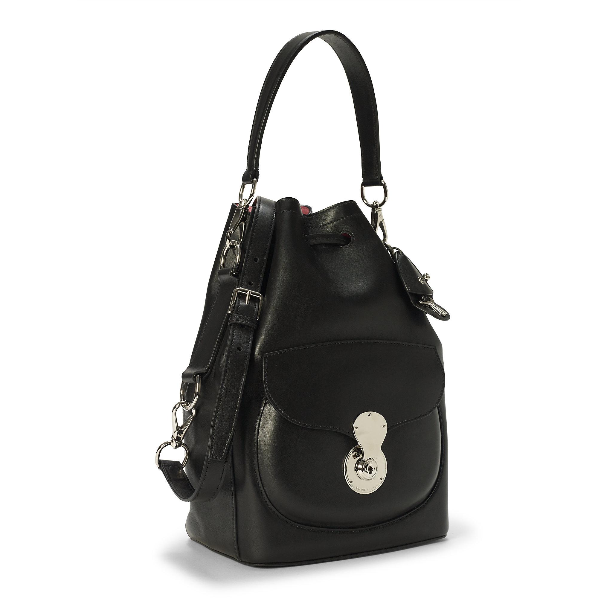 d876d7c50bdf Lyst - Pink Pony Pink Pony Ricky Drawstring Bag in Black