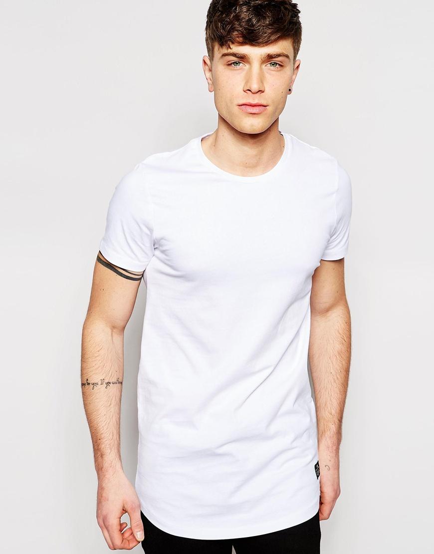 Longline Jones Shirt For Lyst In White T Jackamp; Men roeQBdCxW