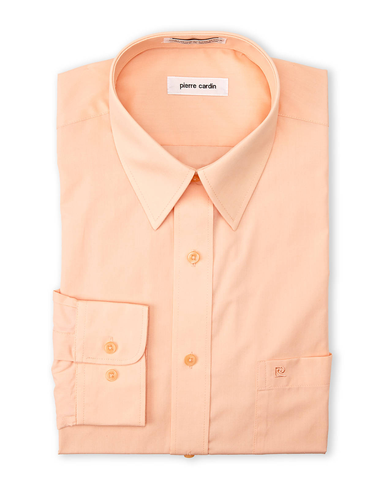 Lyst Pierre Cardin Honey Dew Dress Shirt In Orange For Men