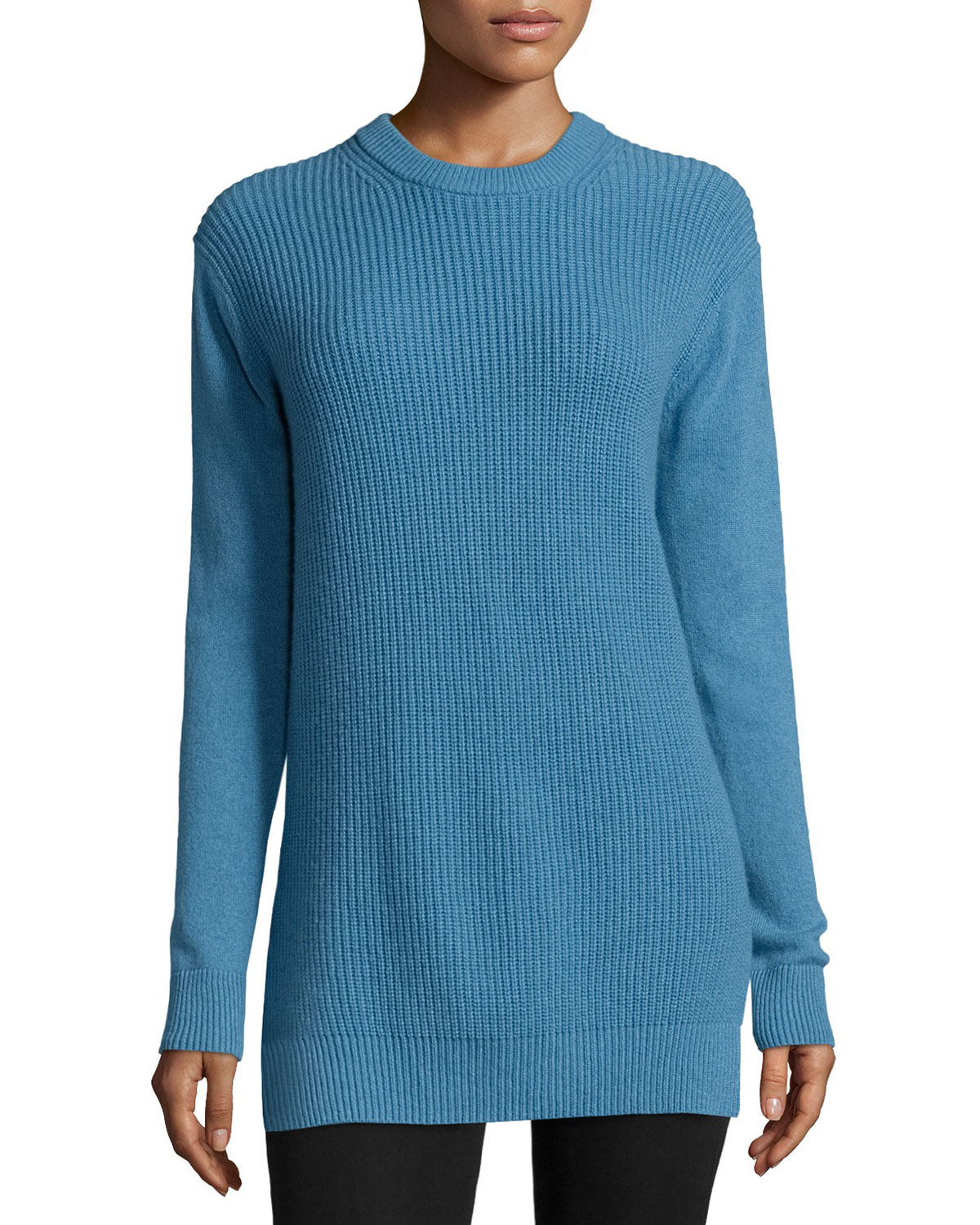 28ecd4b3e87 MICHAEL Michael Kors Long-sleeve Shaker-knit Cashmere Sweater in ...
