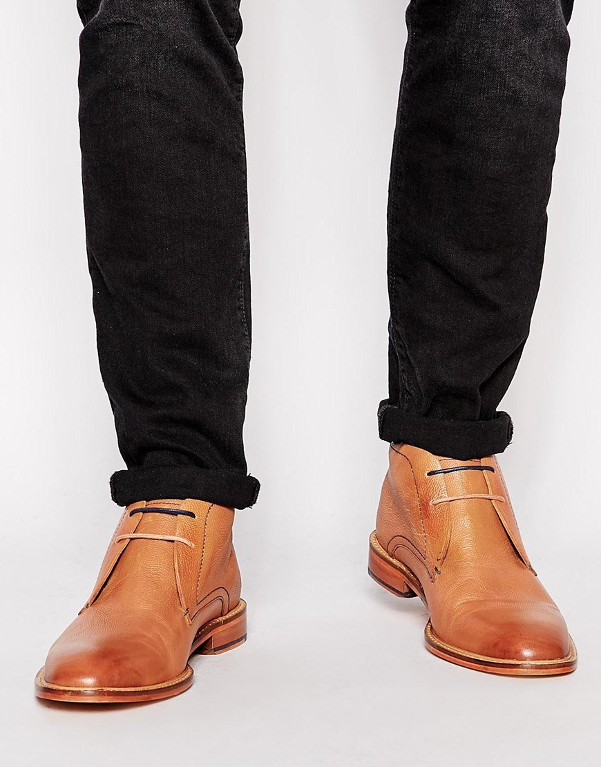 ted baker torsdi boots in brown for lyst