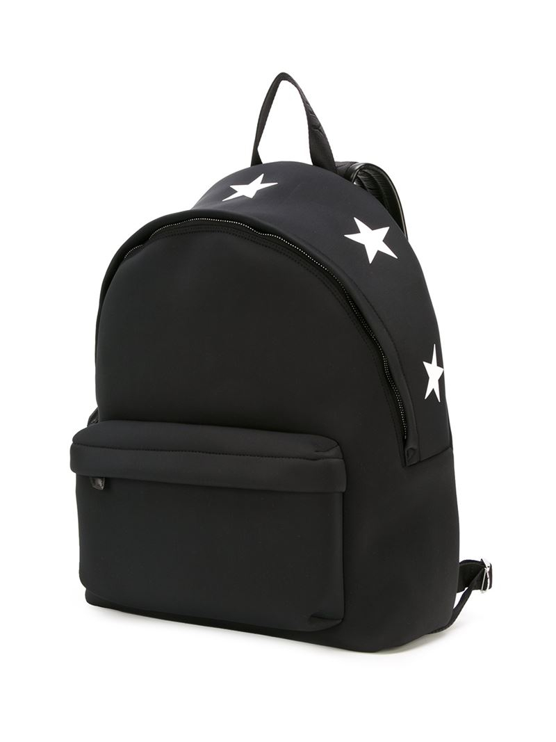 Lyst Givenchy Star Print Backpack In Black For Men