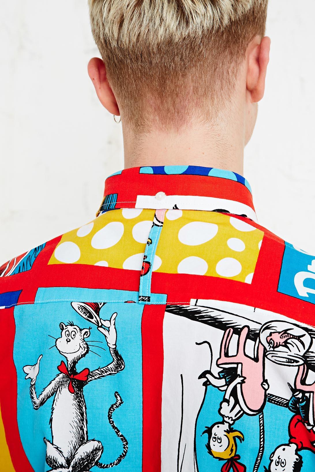Urban outfitters an honourable shirt portrait of a cat for Lucky cat shirt urban outfitters
