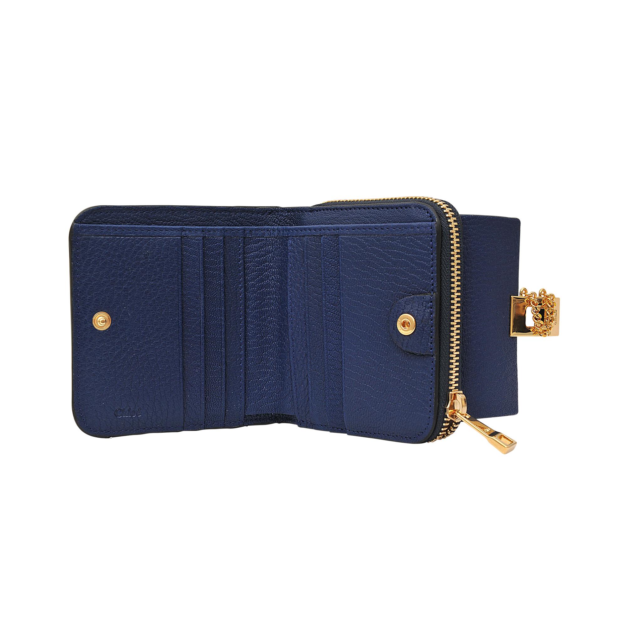 chloe elsie python bag - Chlo�� Drew Square Zipped Wallet in Blue | Lyst