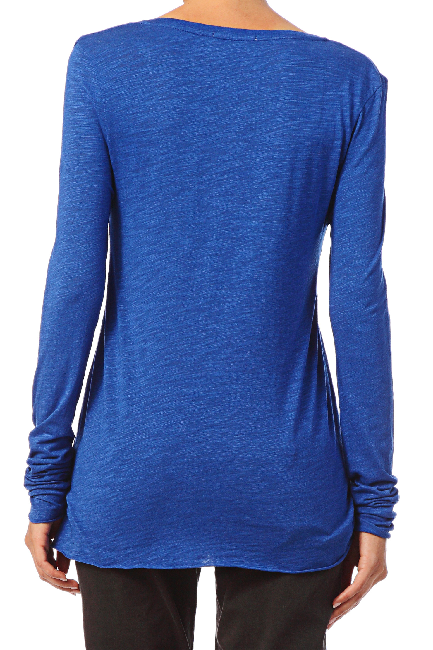 Blue eyes pattern This long sleeve top comes with a v-shaped neckline that makes it a bit more fun and interesting when you design it. Made from 90% Polyester, 10% Spandex Soft, stretchy, lightweight and quick drying fabric Standard Fit Fully Customizable Machine wash Designs imprinted using an advance heat sublimation technique, CowCow is an.