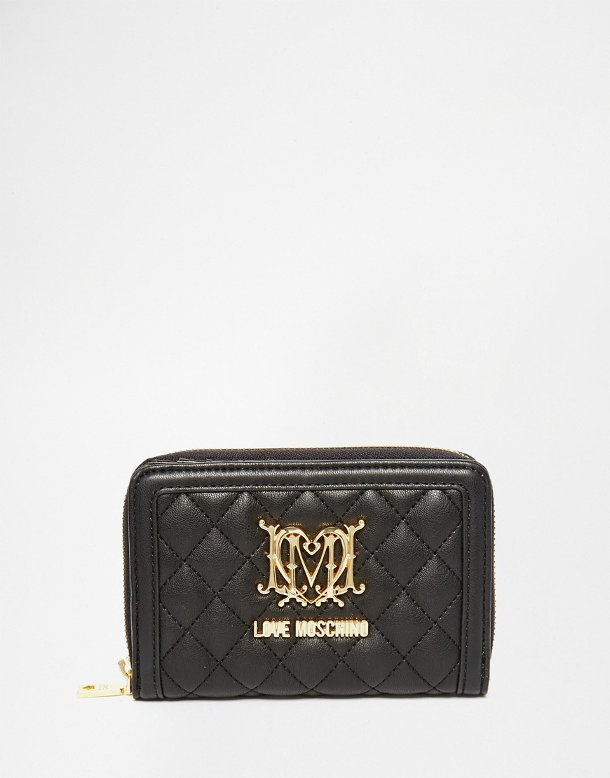 Quilted pocket wallet Love Moschino ZqJi2rrTYw