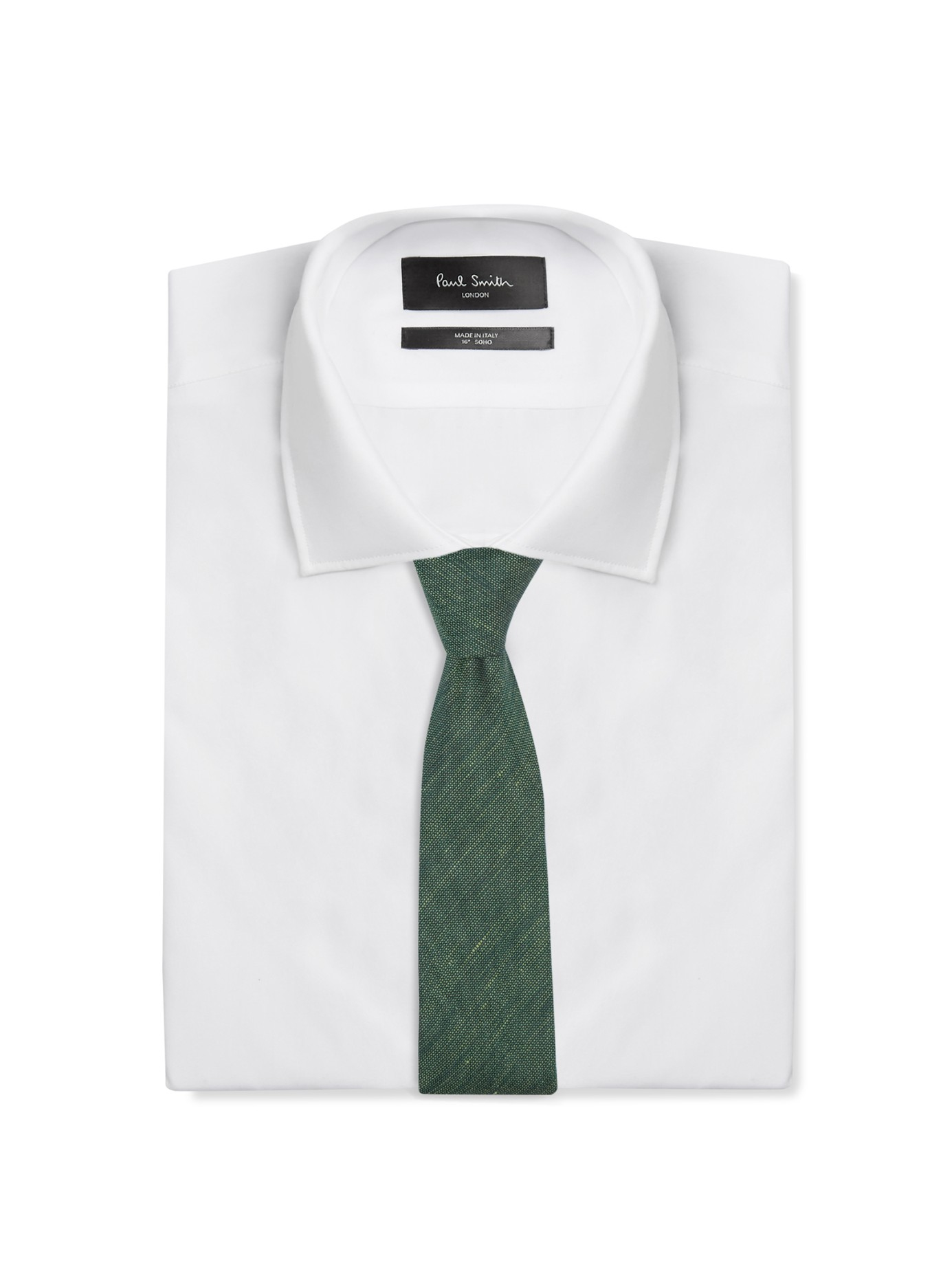 d2344ad676e2 ... norway lyst burberry prorsum silk and linen blend tie in green for men  f2ac5 2d506