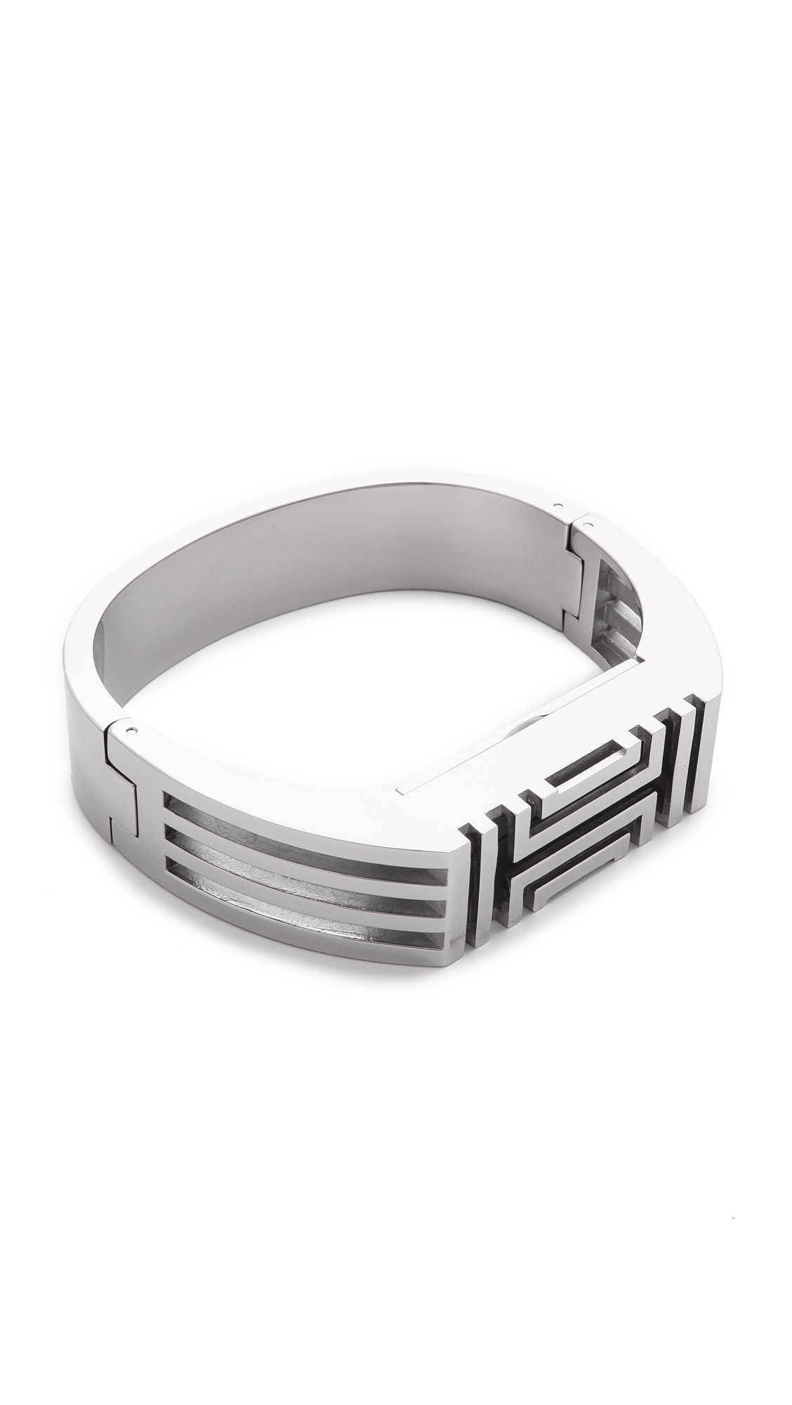 Lyst - Tory Burch For Fitbit Bracelet - Tory Silver in