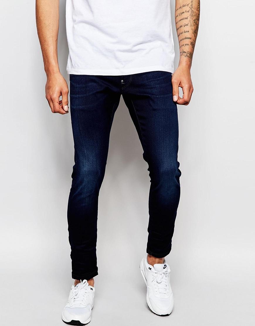 skinny fit jeans herren shioner 0815t jeans slim skinny. Black Bedroom Furniture Sets. Home Design Ideas