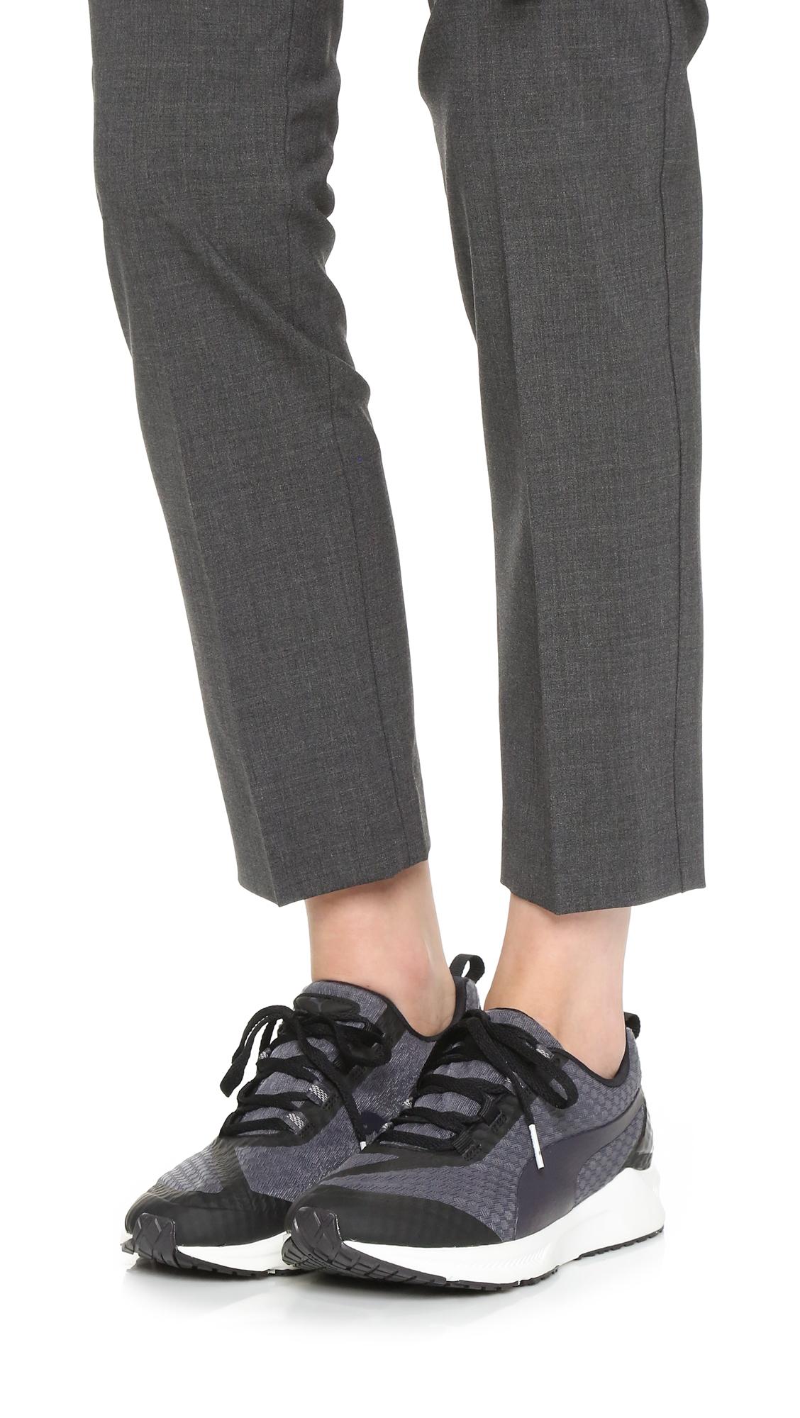 Puma Ignite Xt Core Sneakers in Black   Lyst