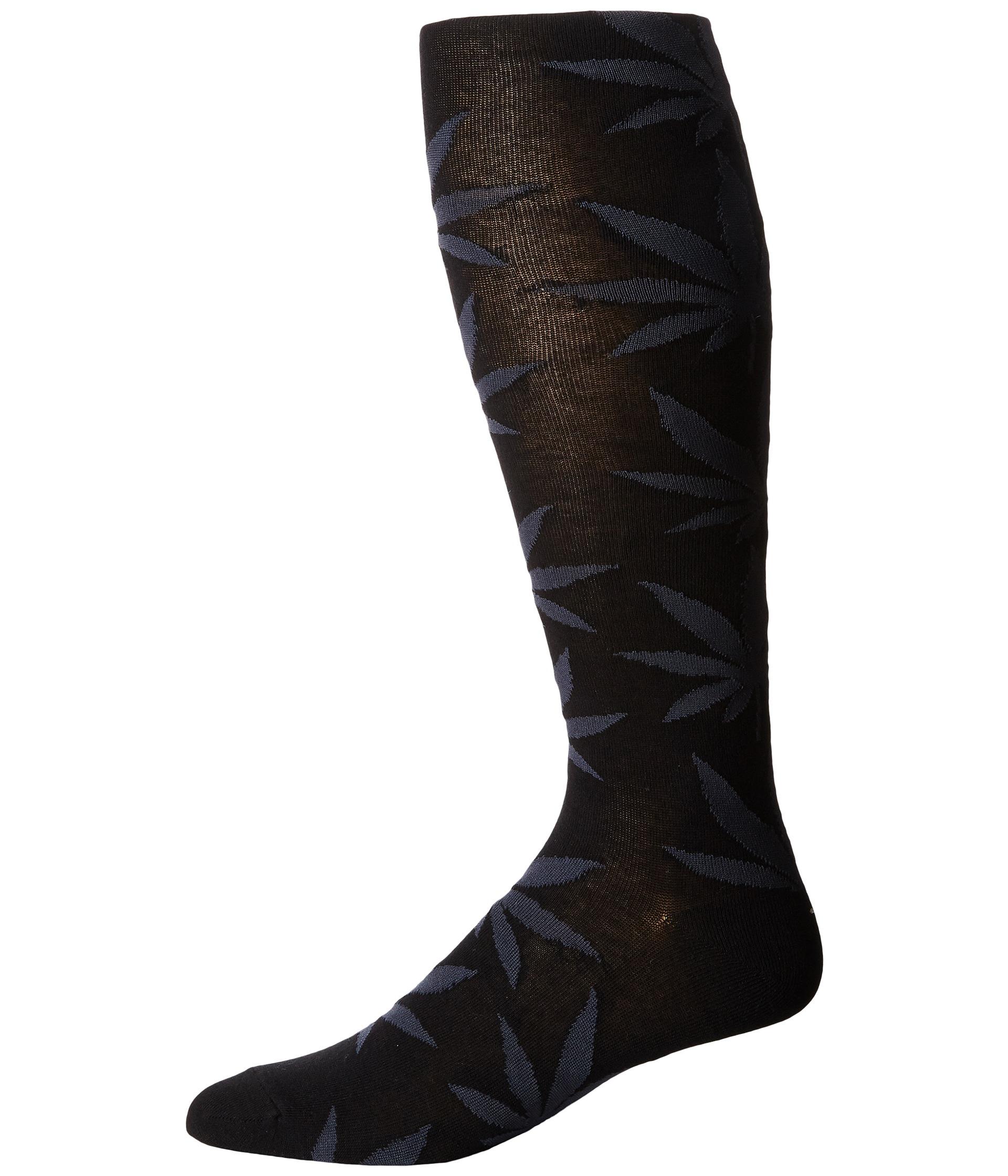 af427f646 Lyst - Huf Plantlife Thigh Highs in Black