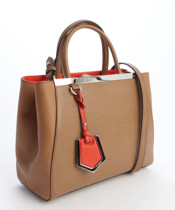 Petite 2Jours bag - Brown Fendi d4ER0