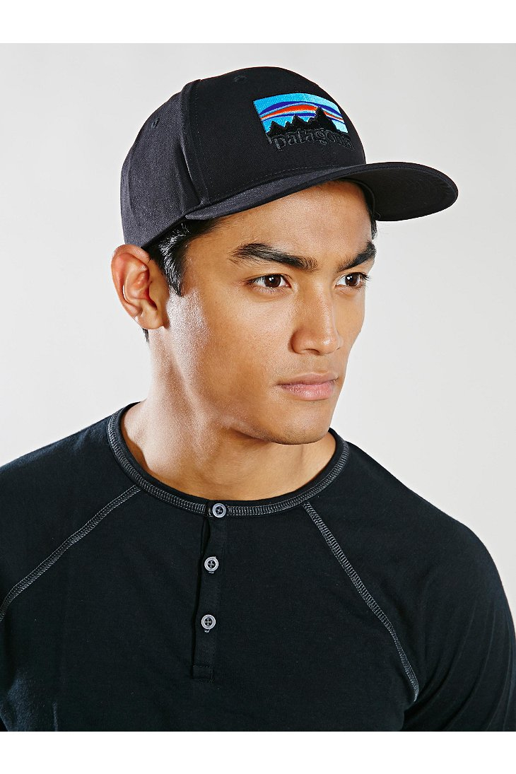 Lyst - Patagonia 73 Logo Roger That Hat in Black for Men bab65aa8d76