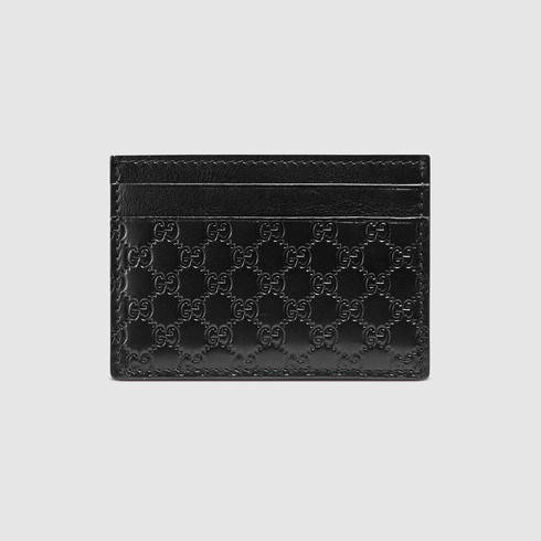 1c50691052c1 Gucci Microguccissima Money Clip in Black for Men - Lyst
