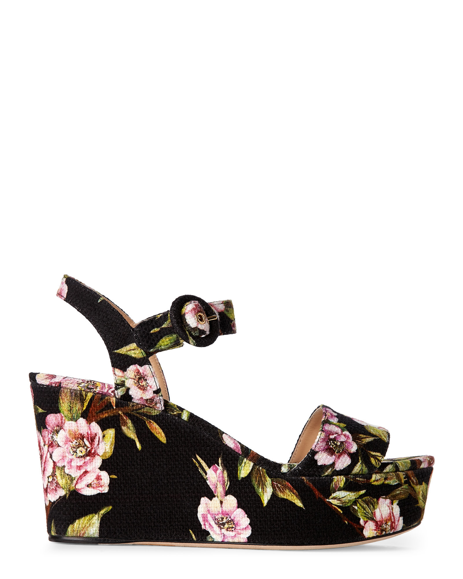 Dolce & Gabbana Floral Platform Sandals buy cheap perfect tWqeWwltnJ