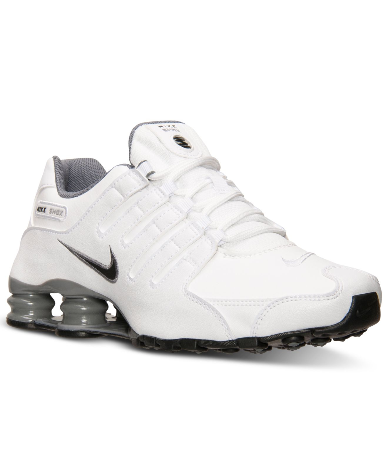 Lyst - Nike Men'S Shox Nz Running Sneakers From Finish ...
