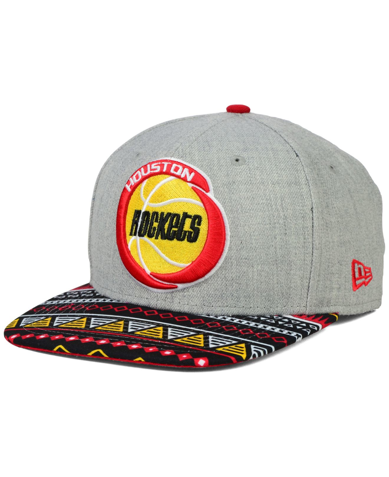new product a5d8c 649cd ... sale lyst ktz houston rockets neon mashup 9fifty snapback cap for men  bc40f 046d2