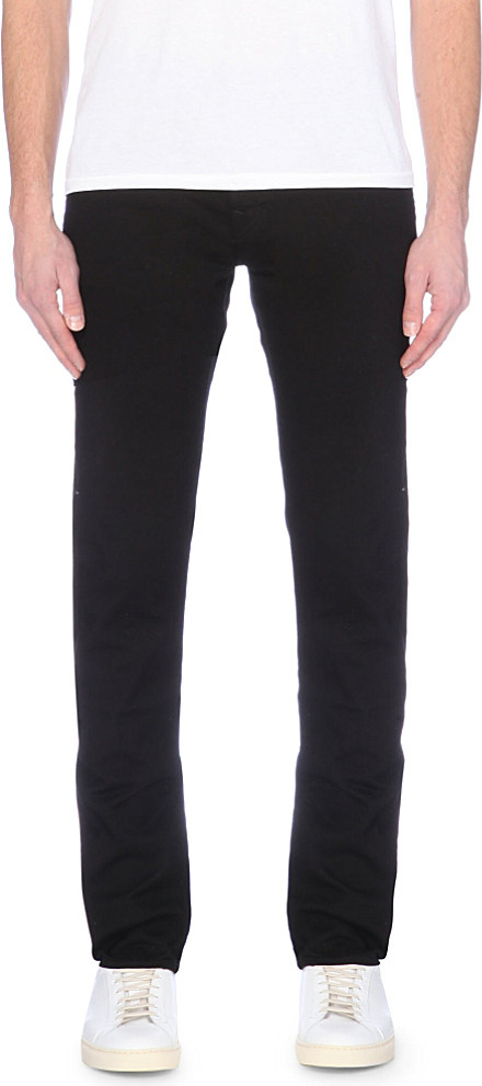 True religion Rocco Relaxed-fit Skinny Jeans in Black for ...