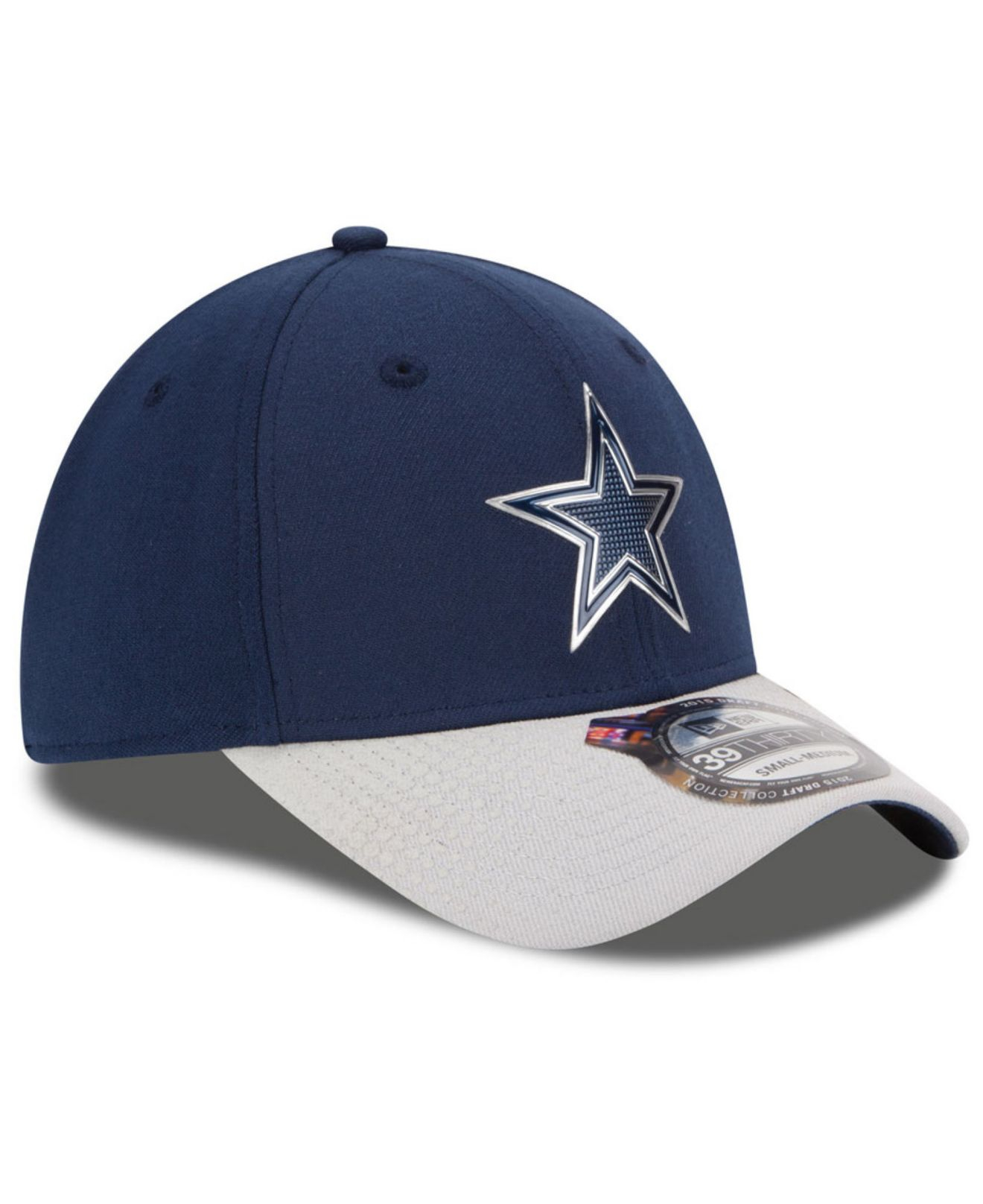 Lyst - KTZ Dallas Cowboys 2015 Nfl Draft 39Thirty Cap in Blue for Men f0f6b7d18ab