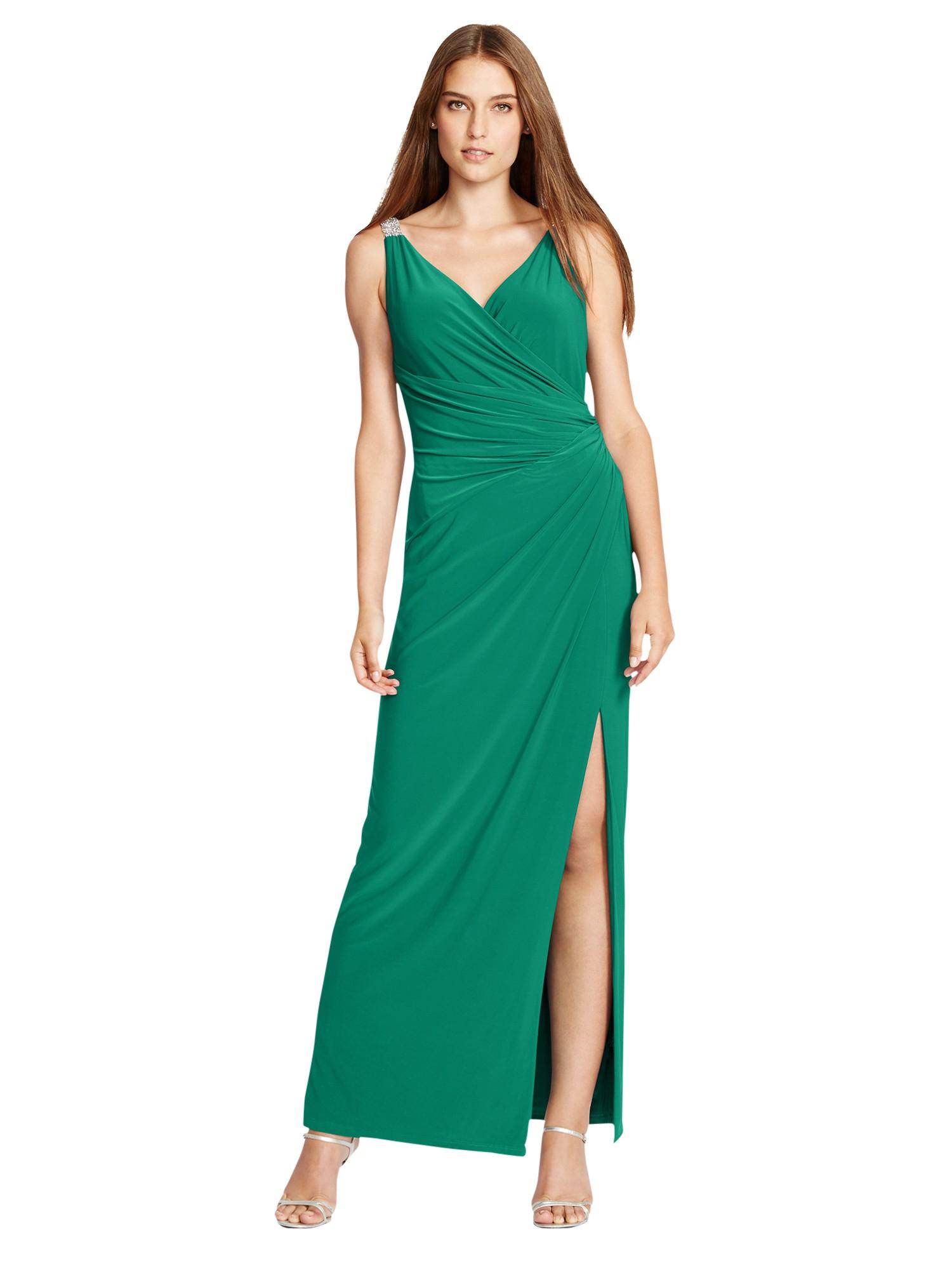 14deb04efe Lauren by Ralph Lauren Lajos Dress in Green - Lyst