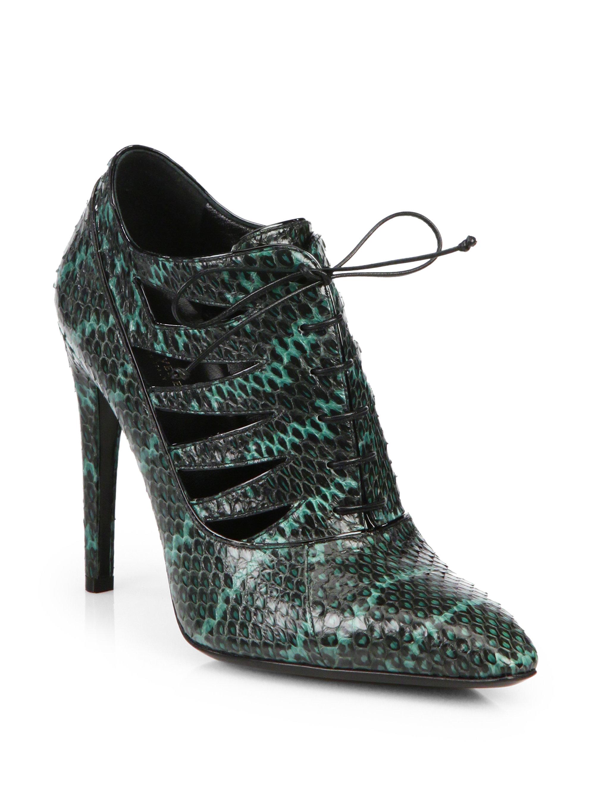 cheap sale store Bottega Veneta Suede & Snakeskin Ankle Boots sast cheap price fwUCM3k35