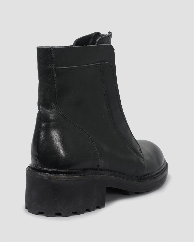 Lyst Ash Booties Space Front Zip In Black