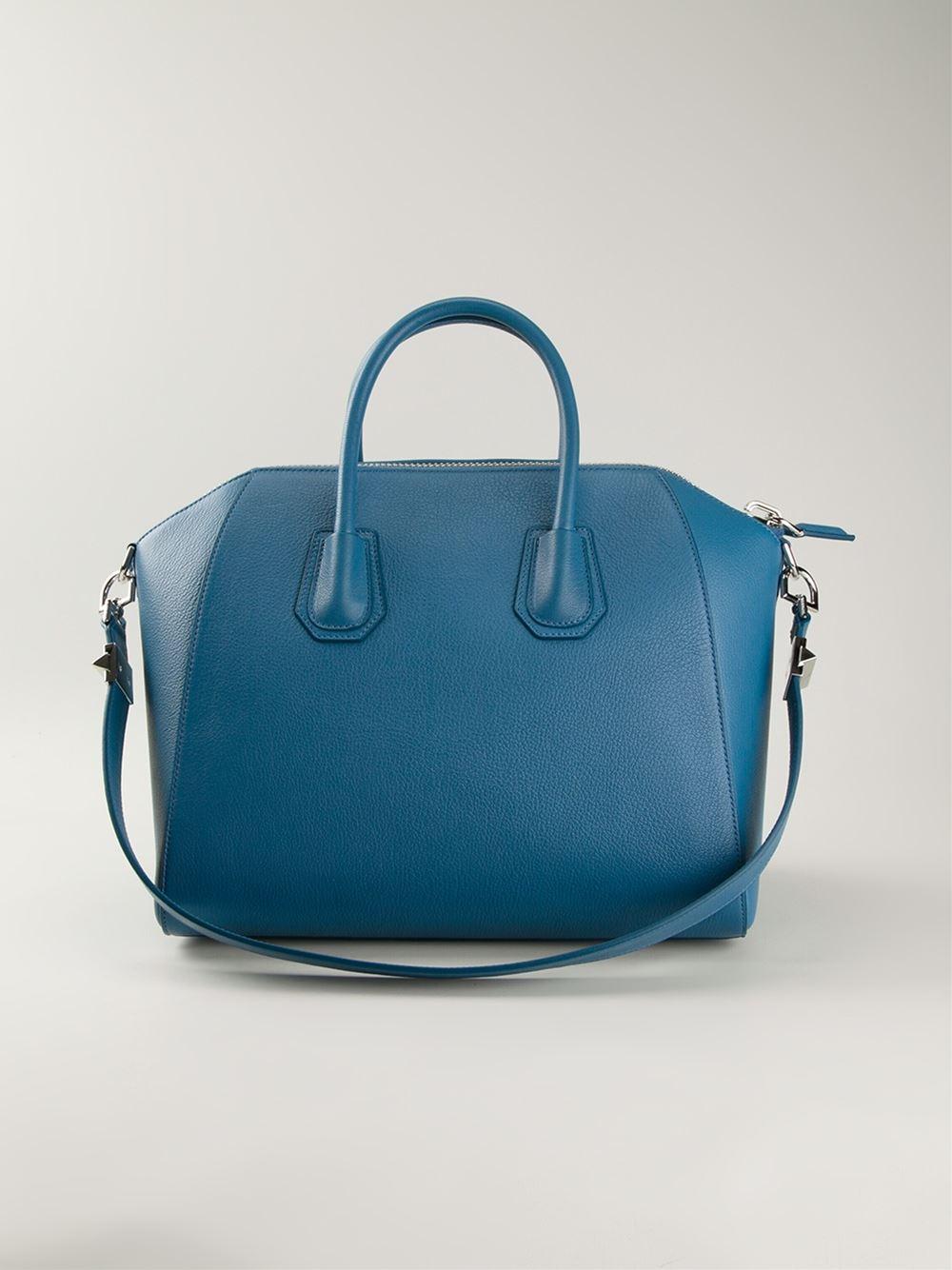 b1d40ca873b8 Givenchy Antigona Medium Blue -  traffic-club