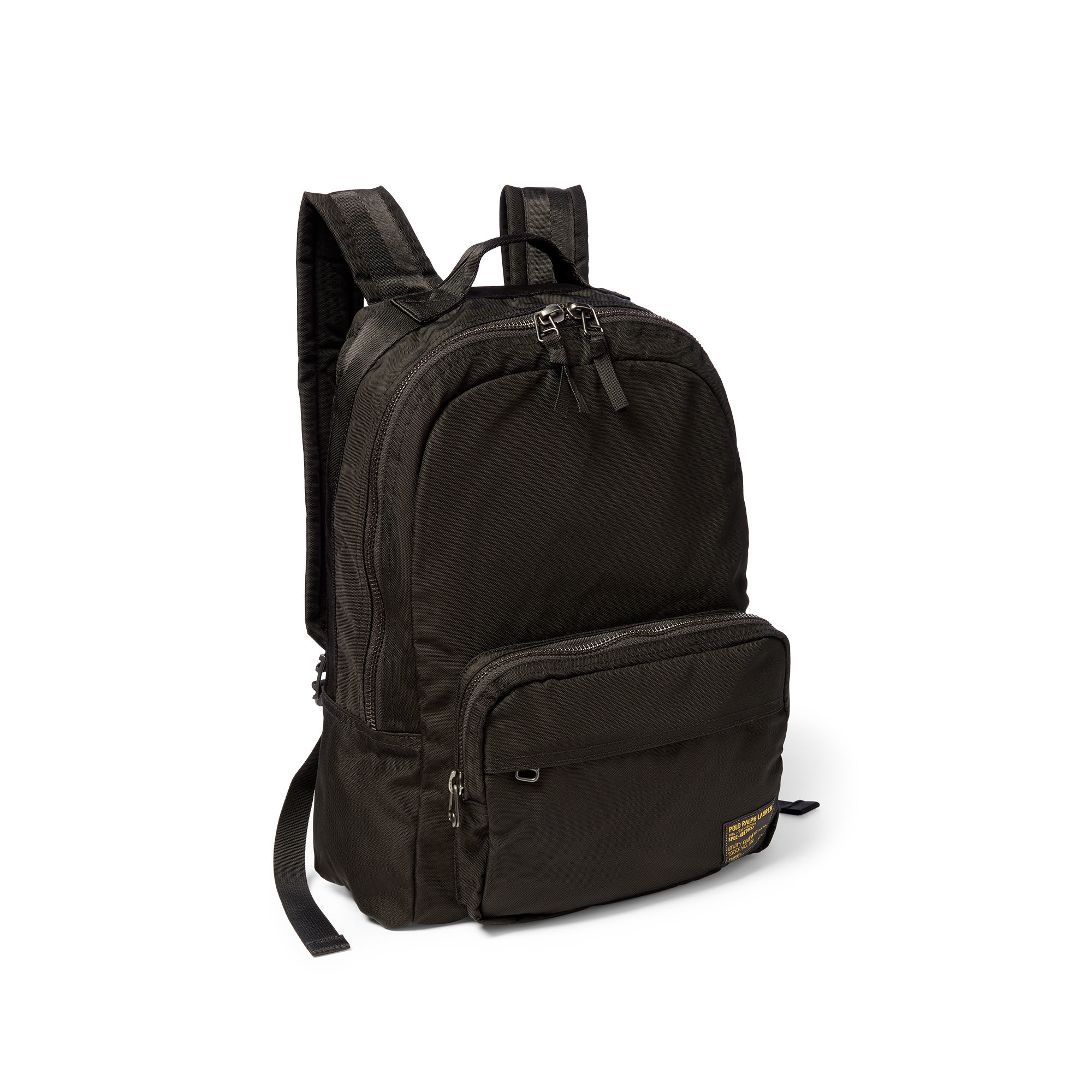 6ec36a47a858 Polo Ralph Lauren Military Nylon Dome Backpack in Black for Men - Lyst