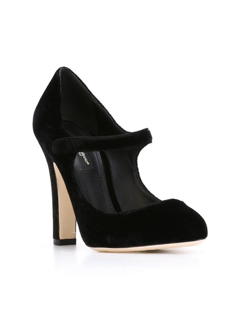 Pumps Mary Jane leather black Dolce & Gabbana oGiybUCND
