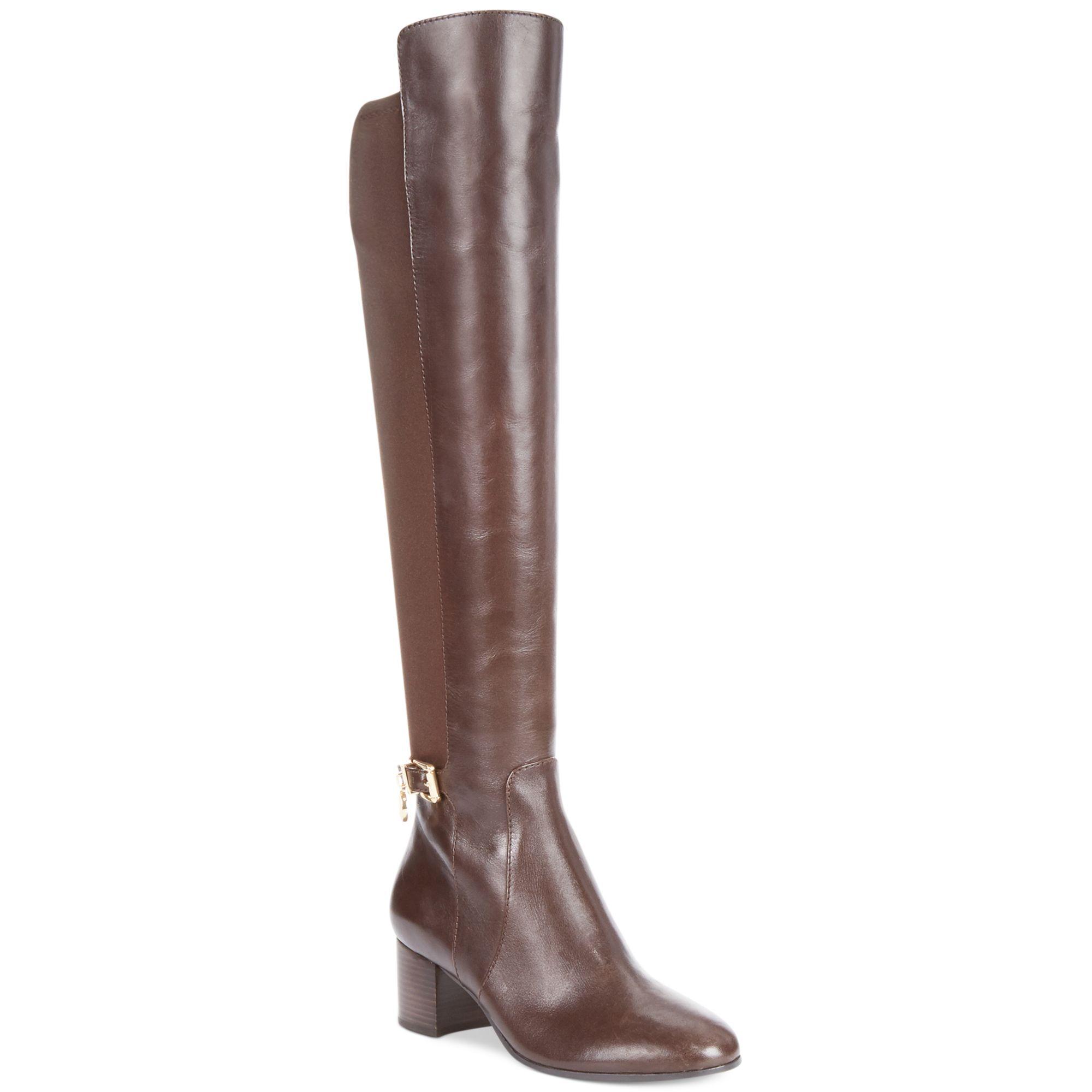 michael kors michael aileen boots in brown