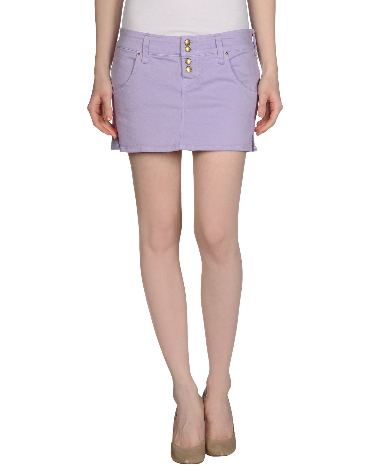 cycle denim skirt in purple lilac save 38 lyst