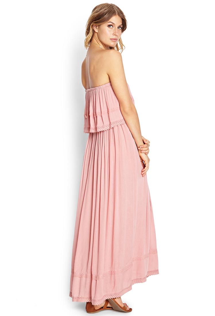 Tube maxi long dress
