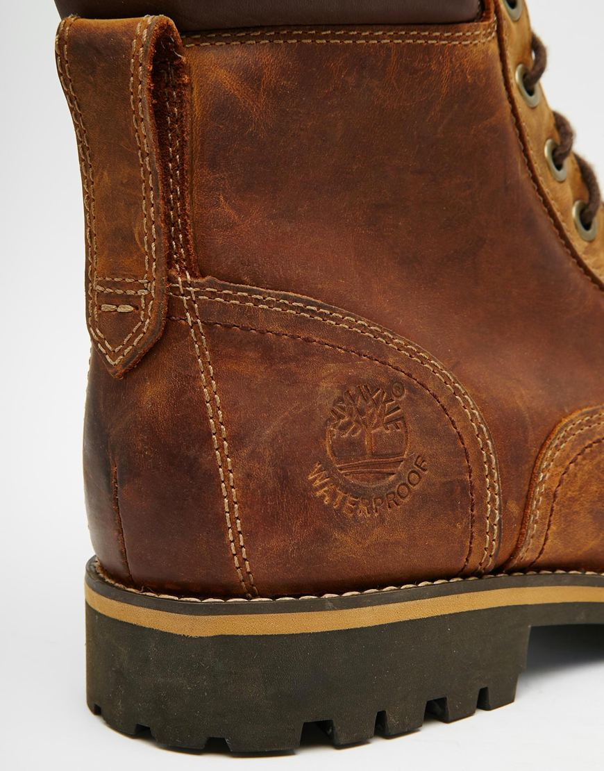 Timberland Rugged 6 Inch Boots in Brown | Lyst