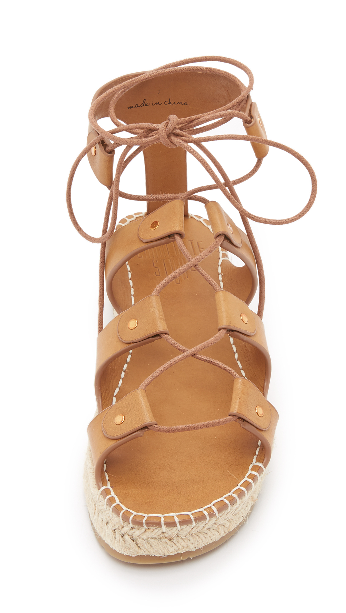 Lyst - Charlotte Stone Joni Espadrille Gladiator Sandals -2157