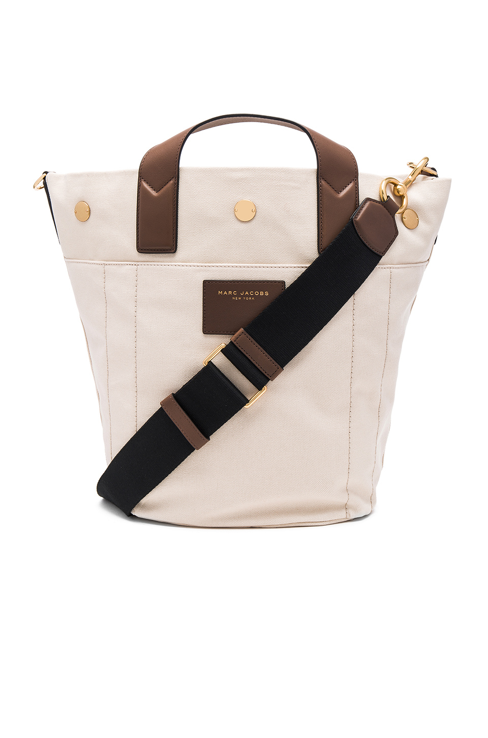 cf577165da7f Lyst - Marc Jacobs Canvas   Leather Small Paratrooper Bag