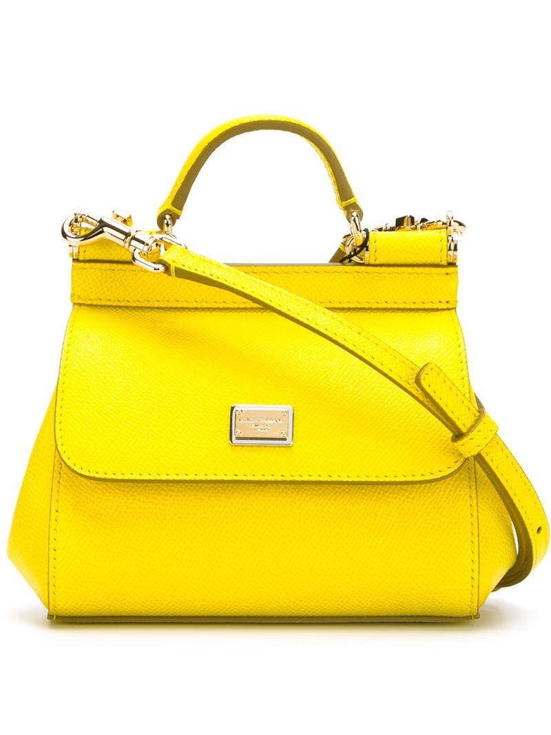 Sicily tote - Yellow & Orange Dolce & Gabbana yy5lonQMcq