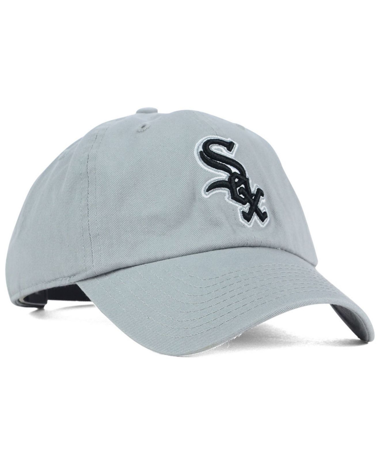 size 40 8a0cb cbed2 ... new zealand lyst 47 brand chicago white sox adjustable cap in gray for  men 57107 b8285