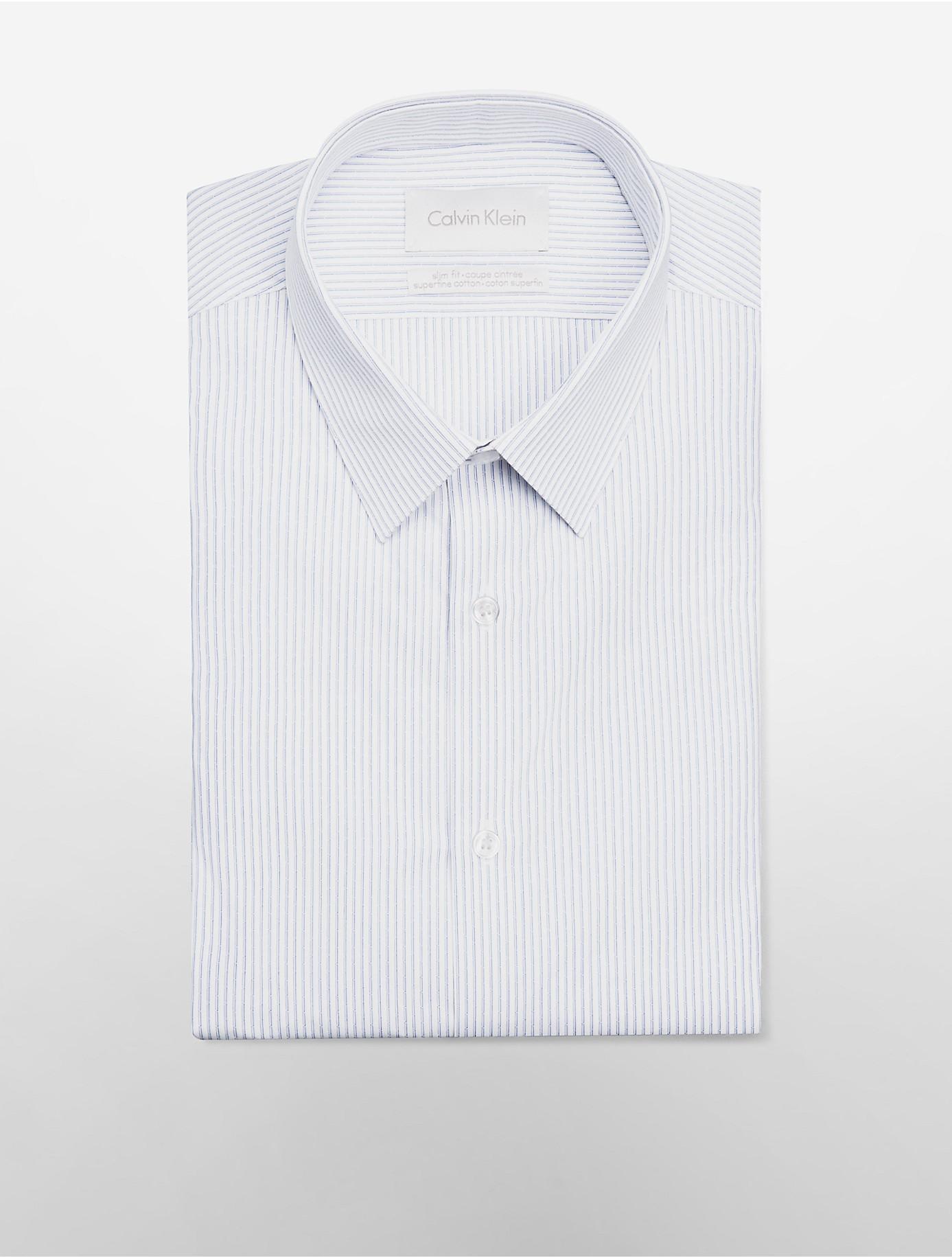White Cufflink Shirt Slim Fit Bcd Tofu House
