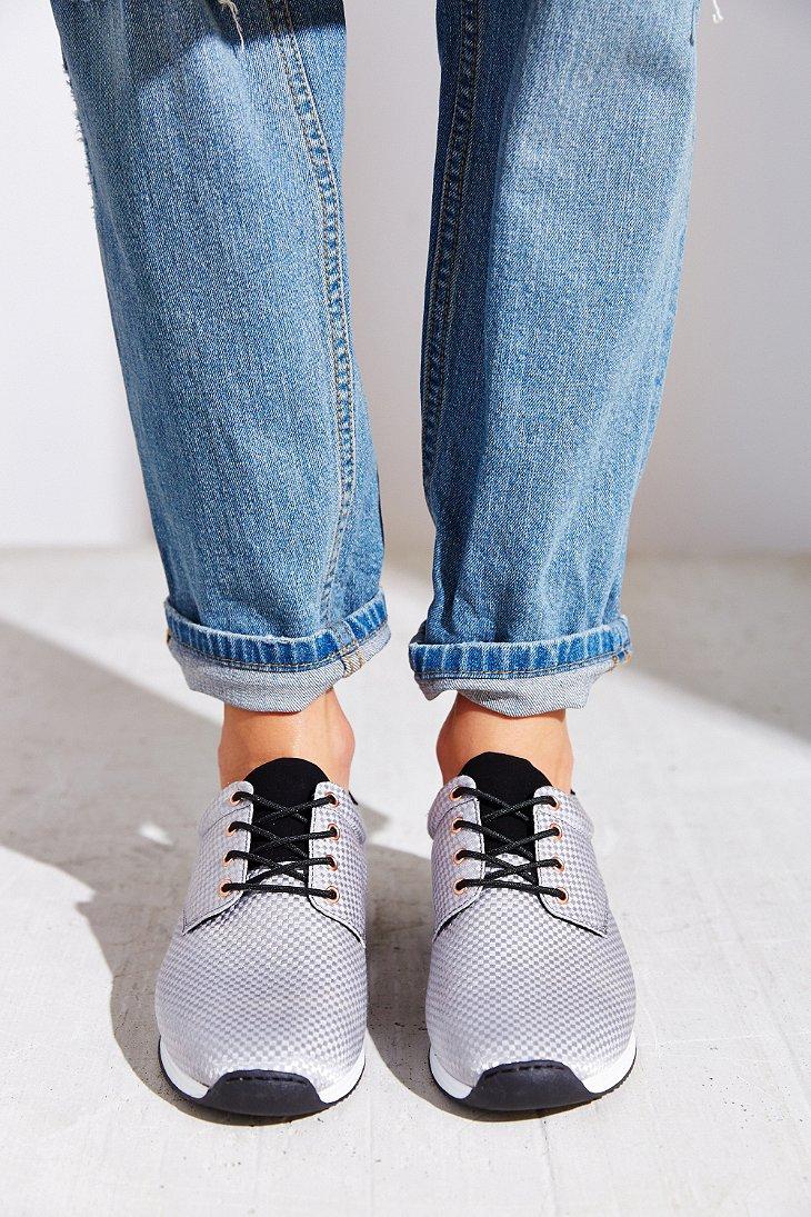 Lyst - Vagabond Woven Running Sneaker in Gray