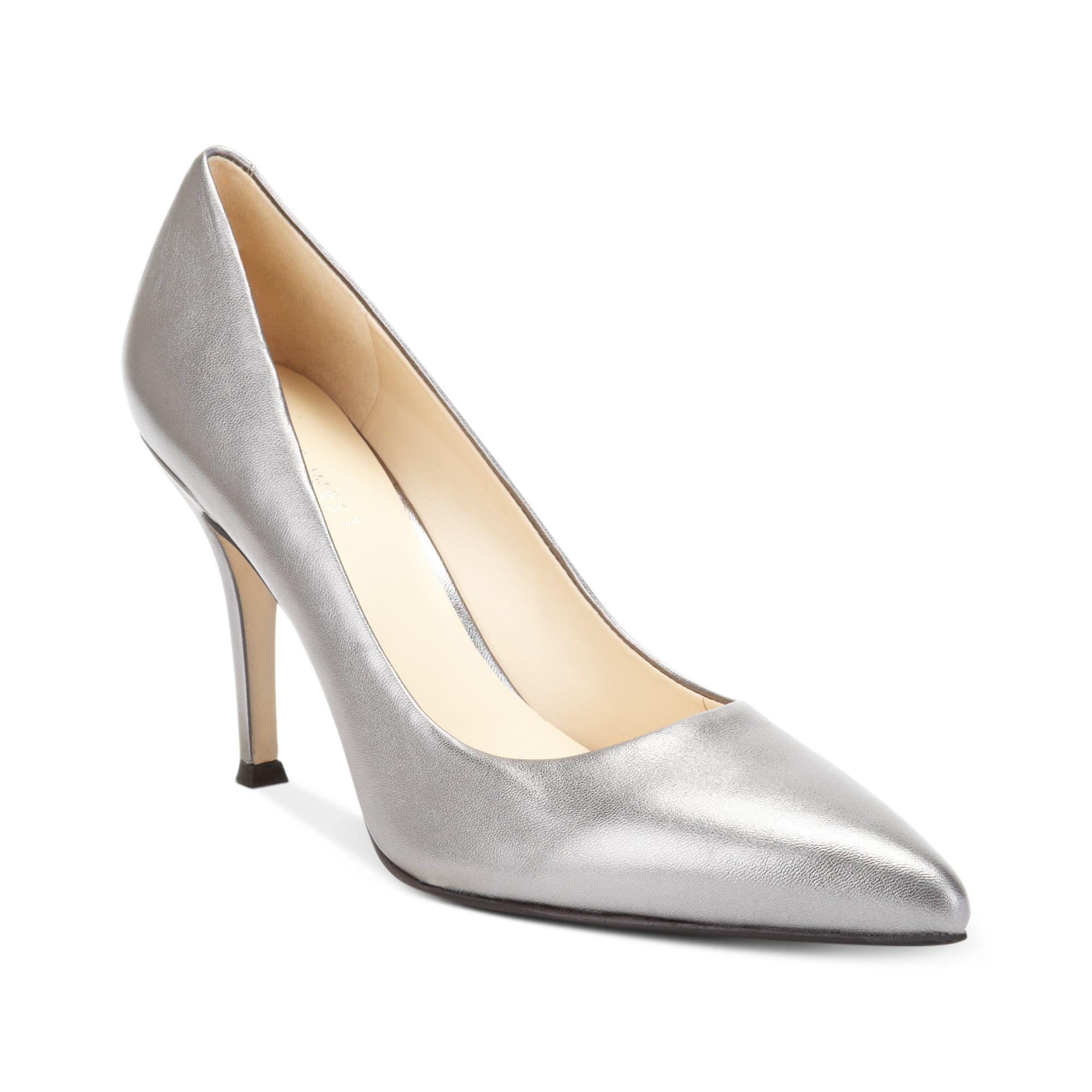 Nine West Dress Shoes Pewter
