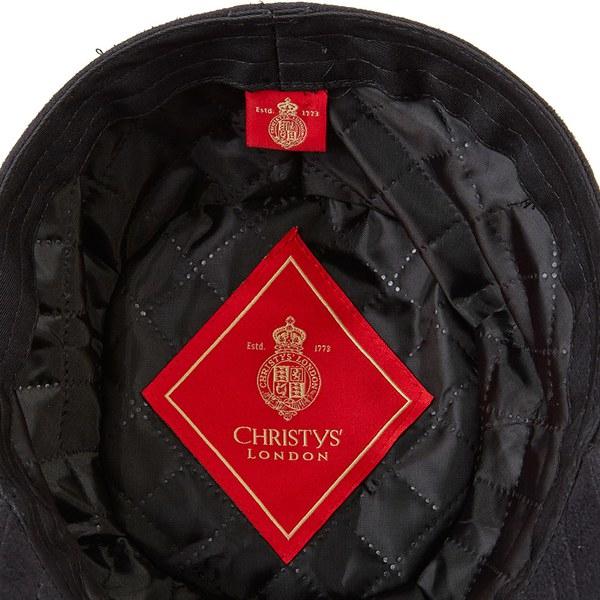 Christys  Mens British Ball Cap in Black for Men - Lyst ca64c76c53c1