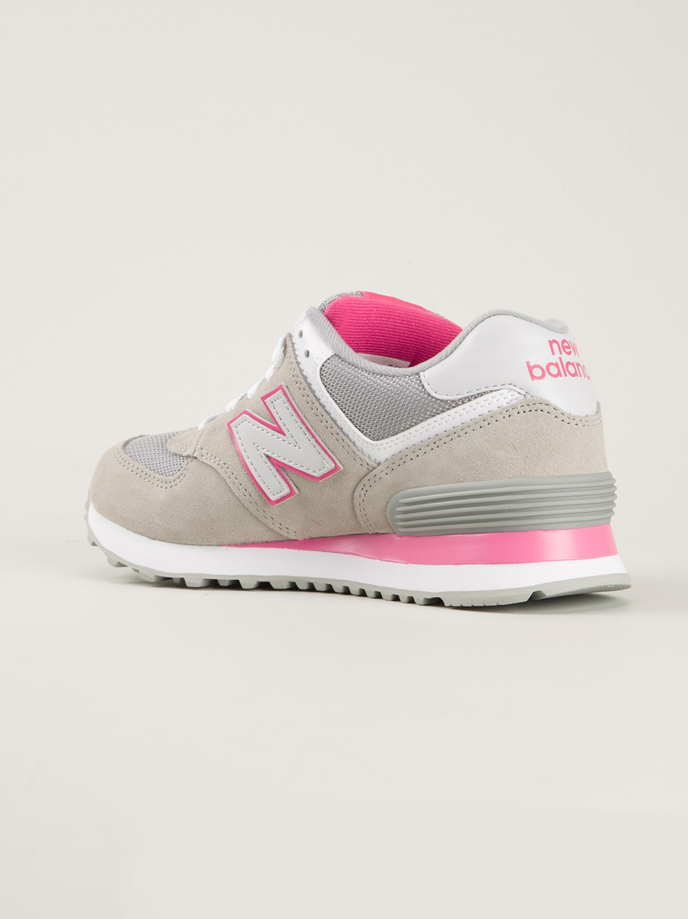 lyst new balance wl 574 exp trainers in pink. Black Bedroom Furniture Sets. Home Design Ideas