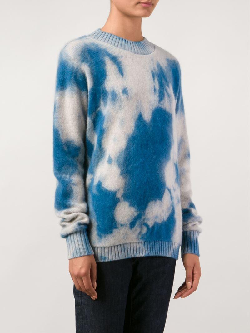 Outlet Marketable Hot The Elder Statesman tie dye sweater vzYrP12c